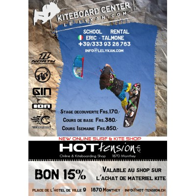 Cours de  Kite  en Toscane Hot Tension     LE LYKAN school  Talamone