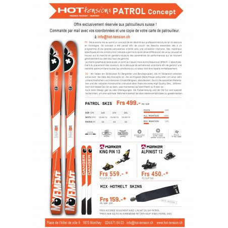 Movement ski PATROL